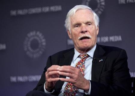 Ted Turner rushed to clinic in Argentina with appendicitis: media