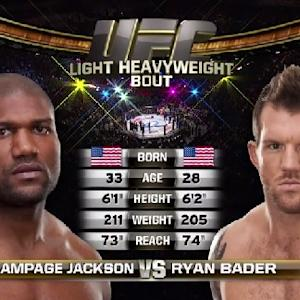 Fight Night Bangor Free Fight: Ryan Bader vs. Rampage Jackso