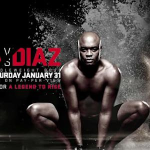 UFC 183: Anderson Silva on Jon Jones