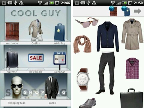 Cool Guy men's fashion app