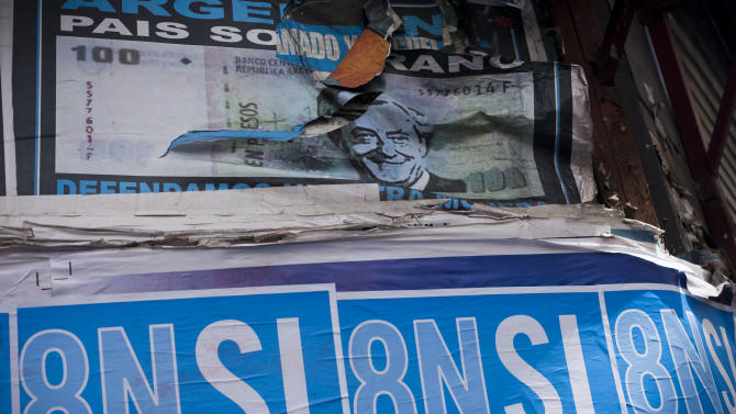 Argentines prepare for huge anti-government march