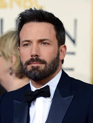 Actor and filmmaker Ben Affleck arrives at the 70th Annual Golden Globe Awards at the Beverly Hilton Hotel on Sunday Jan. 13, 2013, in Beverly Hills, Calif. (Photo by Jordan Strauss/Invision/AP)