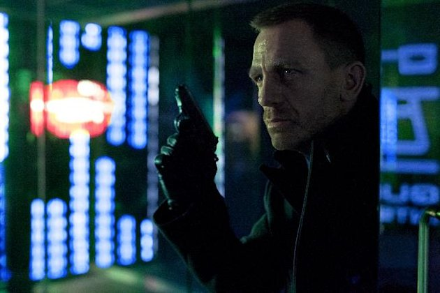 This film image released by Columbia Pictures shows Daniel Craig as James Bond in the action adventure film, &quot;Skyfall.&quot; (AP Photo/Sony Pictures, Francois Duhamel)