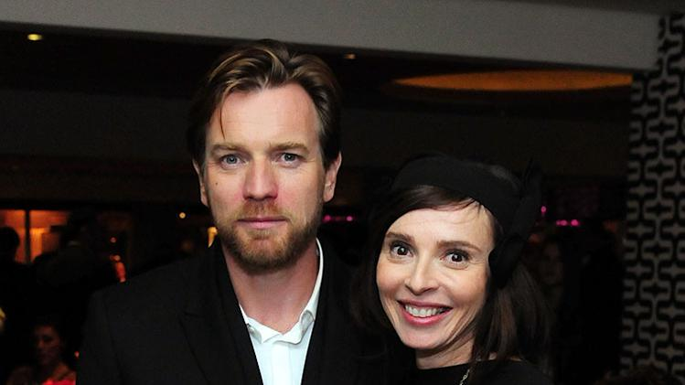 HBO's Official Golden Globe Awards After Party - Inside: Ewan McGregor and Eve Mavrakis
