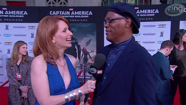 'Captain America: The Winter Soldier' Red Carpet Premiere: Samuel L. Jackson