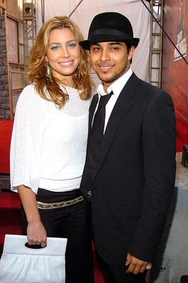 Jessica Biel and Wilmer Valderrama MTV Movie Awards - 6/5/2004