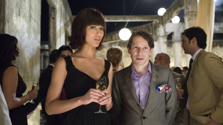 Olga Kurylenko Mathieu Amalric Quantum of Solace Production Stills Sony Pictures 2008