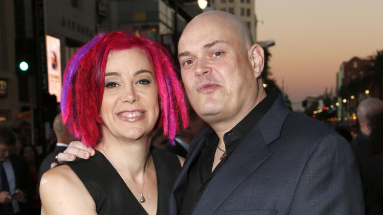 "FILE - This Oct. 24, 2012 file photo shows Co-directors Lana Wachowski and Andy Wachowski at the Los Angeles premiere of ""Cloud Atlas"" in Los Angeles.  Netflix announced Wednesday that it will stream ""Sense8"" late next year for subscribers. The series is the first foray into television for Andy and Lana Wachowski, the filmmaking siblings who directed ""The Matrix"" and last year's ""Cloud Atlas.""  (Photo by Todd Williamson/Invision, file)"