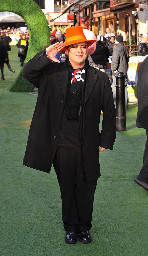 Gnomeo and Juliet UK Premiere 2011 Boy George