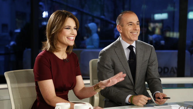 NBC executive: We're not replacing Matt Lauer