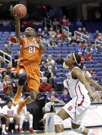 NC State women top Clemson 56-45
