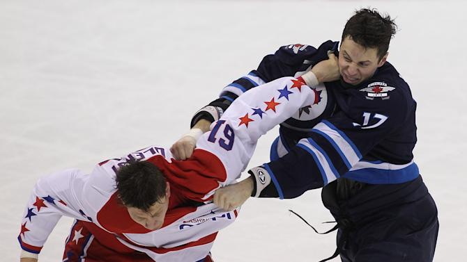 Washington Capitals v Winnipeg Jets