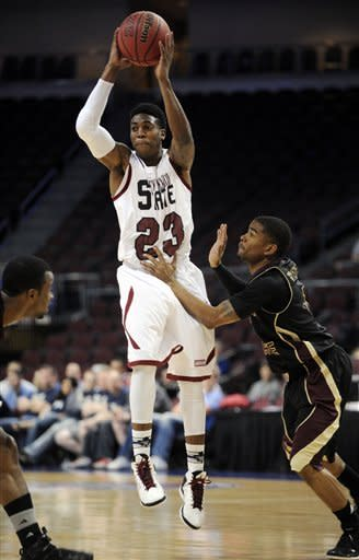 New Mexico St. tops Texas St. 74-65 to reach final