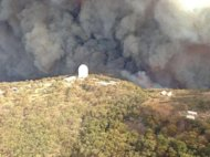 The Wambelong fire threatened Australia's Siding Spring Observatory in January 2013.