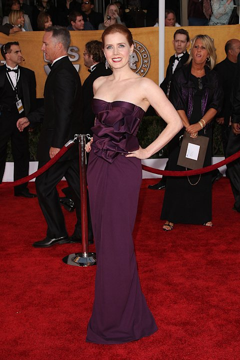 Best &amp; Worst Overview Gallery 2009 Amy Adams SAG Awards
