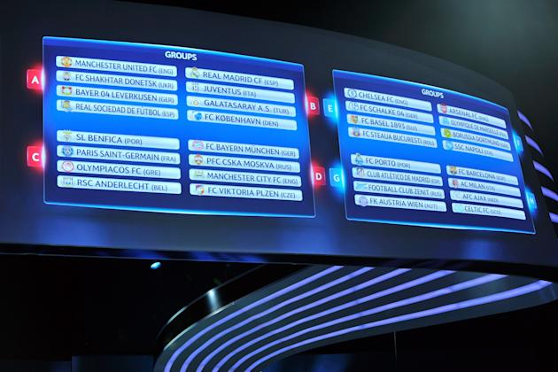 UEFA Champions League Draw and Gala Dinner
