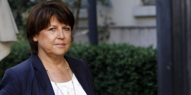 Martine Aubry rpte qu'elle va quitter la tte du PS