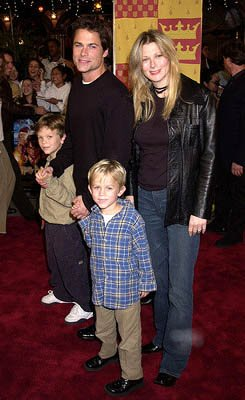 Premiere: Rob Lowe and family at the Westwood premiere of Warner Brothers' Harry Potter and The Sorcerer's Stone - 11/14/2001