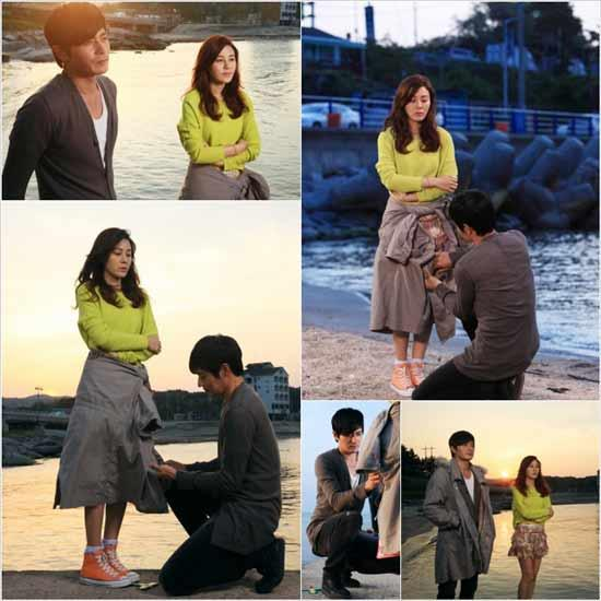 Jang Dong Gun Gets on One Knee Before Kim Ha Neul