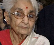 Top Indian female revolutionary Lakshmi Sehgal, seen here in 2004, has died following a heart attack. She was 97. Sehgal fought Allied forces during World War II