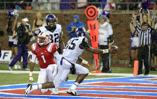 No. 15 TCU beats SMU 24-16