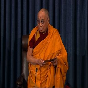 Raw: The Dalai Lama Leads Senate in Prayer