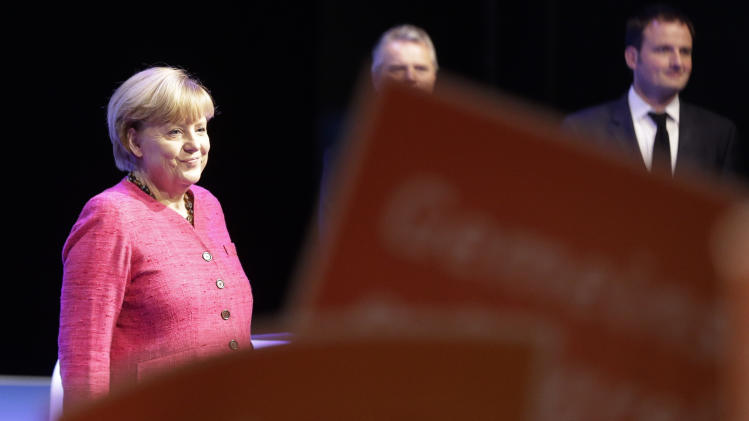 Merkel bidding for 3rd term in German election
