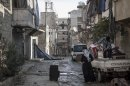 Clashes hit Damascus amid chemical weapons fears