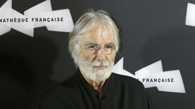 """FILE - This Oct. 15, 2012 file photo shows Austrian director Michael Haneke at the pre-premier of the movie """"Amour""""  in Paris. Haneke was nominated  for an Academy Award for best director on Thursday, Jan. 10, 2013, for """"Amour.""""  The 85th Academy Awards will air live on Sunday, Feb. 24, 2013 on ABC.  (AP Photo/Michel Euler, file)"""
