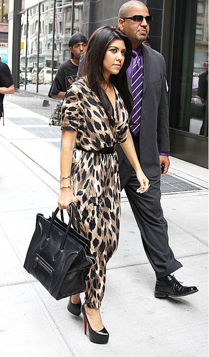 Kourtney Kardashian New York Hotel