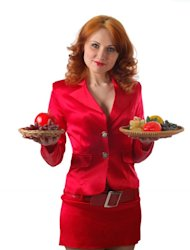 A new study has found that men tend to tip more to waitresses who wear red