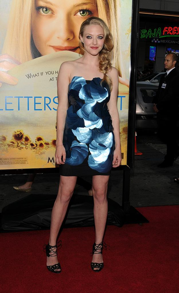 Letters to Juliet LA Premiere 2010 Amanda Seyfried