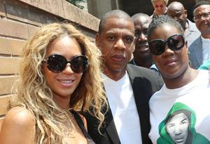 Beyonce, Jay Z and Sybrina Fulton | Photo Credits: Johnny Nunez/WireImage