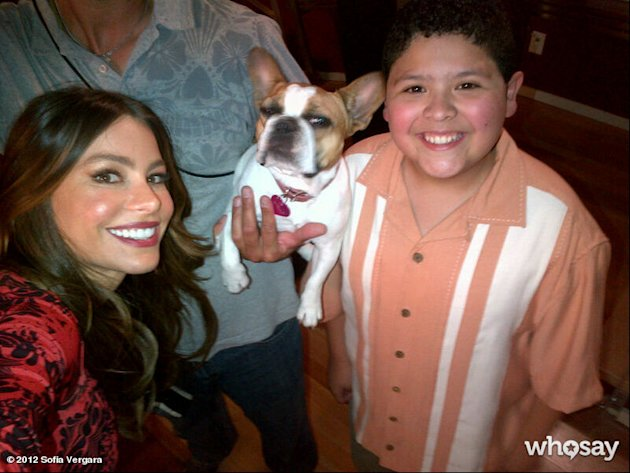 Sofia Vergara, Stella &amp; Rico Rodriguez