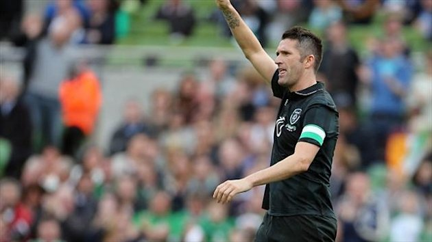 Robbie Keane bagged a brace for Ireland