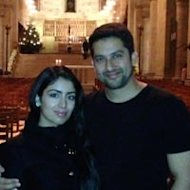 Aftab Shivdasani Celebrates New Year In Sweden