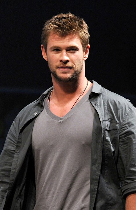 2010 Comic Con Panels Chris Hemsworth