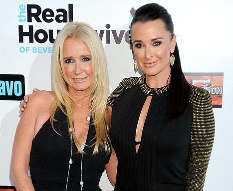 Kyle and Kim Richards Competing in Fox's Stars In Danger: The High Dive