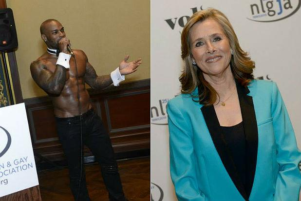 Meredith Vieira Draws Big Laughs, Tyson Beckford Strips in Honor of Gay Journalists at NY Benefit (Photos)