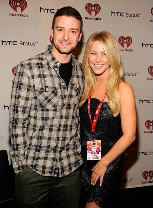 Timberlake Hough i Heart Radio