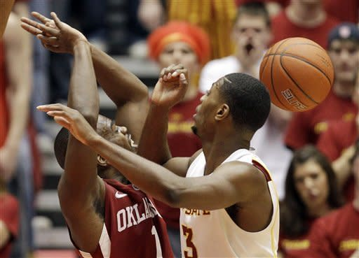 Iowa State blasts Oklahoma 80-69
