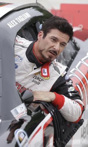 Tagliani finds happy place, speed in NASCAR