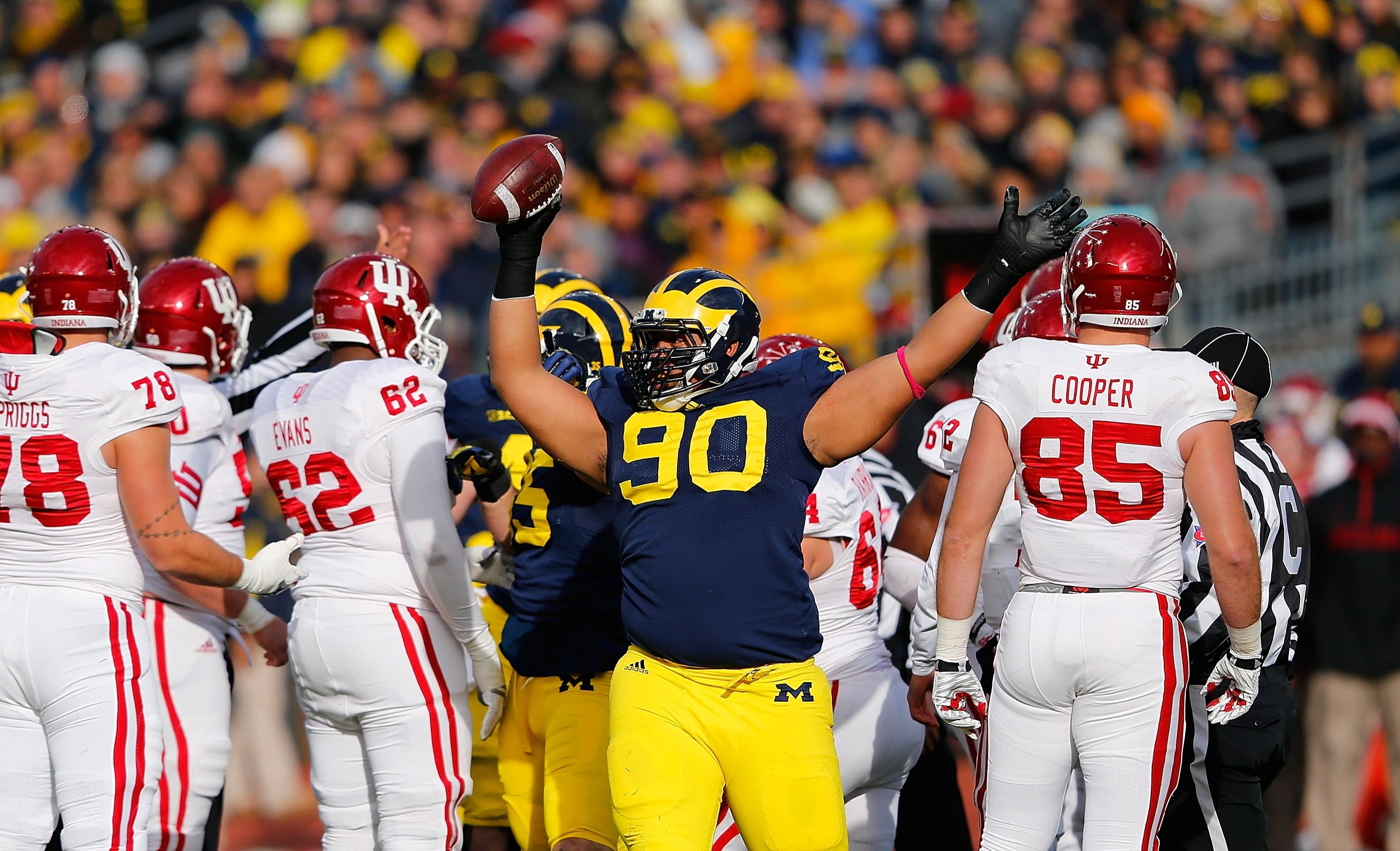Michigan DT Bryan Mone likely out for the season