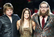 Terry McDermott, Cassadee Pope and Nicholas David | Photo Credits: Tyler Golden/NBC