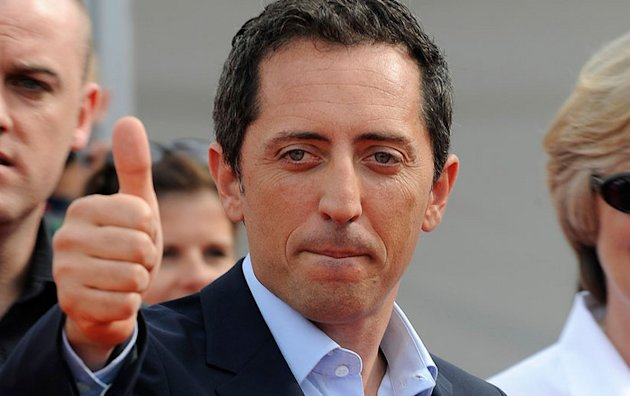 Gad Elmaleh : a tombe  pic !