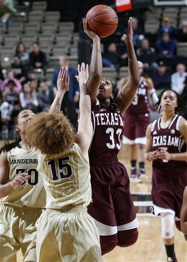 Clarke helps Vandy women upset No. 10 Texas A&M