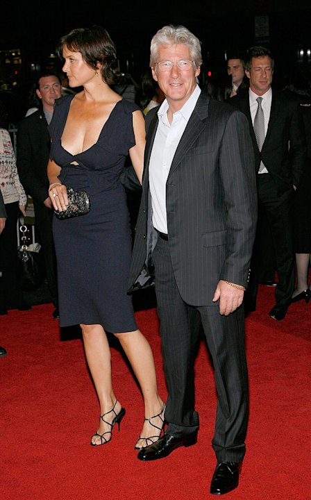 Nights in Rodanthe NY Premiere 2008 Richard Gere Carey Lowell