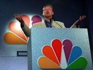 "FILE - In this July 19, 1997 file photo, President of NBC Entertainment, Warren Littlefield reacts to questions by reporters at the annual NBC Press tour in Pasadena Calif. After being fired as NBC entertainment president toward the end of the ""must see TV"" period in 1998, Warren Littlefield packed photos, papers, awards and other memorabilia into a self-storage unit and turned the key. For 10 years he paid the rent and never stopped by. Finally he unlocked the unit and began combing through the boxes _ a process of rediscovery that eventually led to his new book, ""Top of the Rock: Inside the Rise and Fall of Must See TV."" (AP Photo/Frank Wiese, file)"