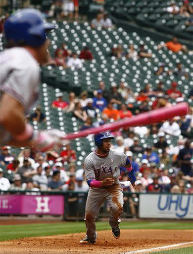 Rangers complete sweep over Astros with 12-7 win