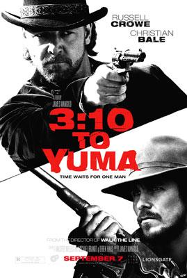 Russell Crowe and Christian Bale star in Lionsgate Films' 3:10 to Yuma